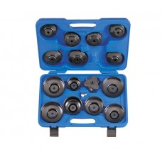 Набор съемников масляных фильтров, 66-108 мм, 16 предметов KING TONY 9AE2016 (Код: 9AE2016)