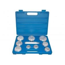 Набор оправок для подшипников и сальников, 39-81 мм, 10 предметов KING TONY 9BA11 (Код: 9BA11)