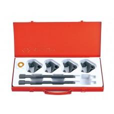 Набор для стяжки пружин амортизатора, 85-270 мм, кованые крюки, 6 предметов KING TONY 9BF21