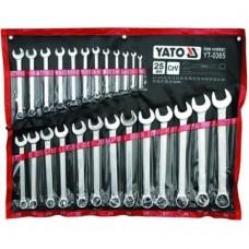 YT-03651 Набор ключей 6-32 мм 25 предметов