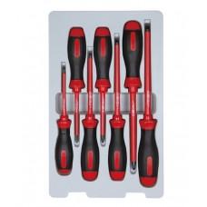 Набор отверток в коробке, диэлектрические, 7 предметов KING TONY 30617MR