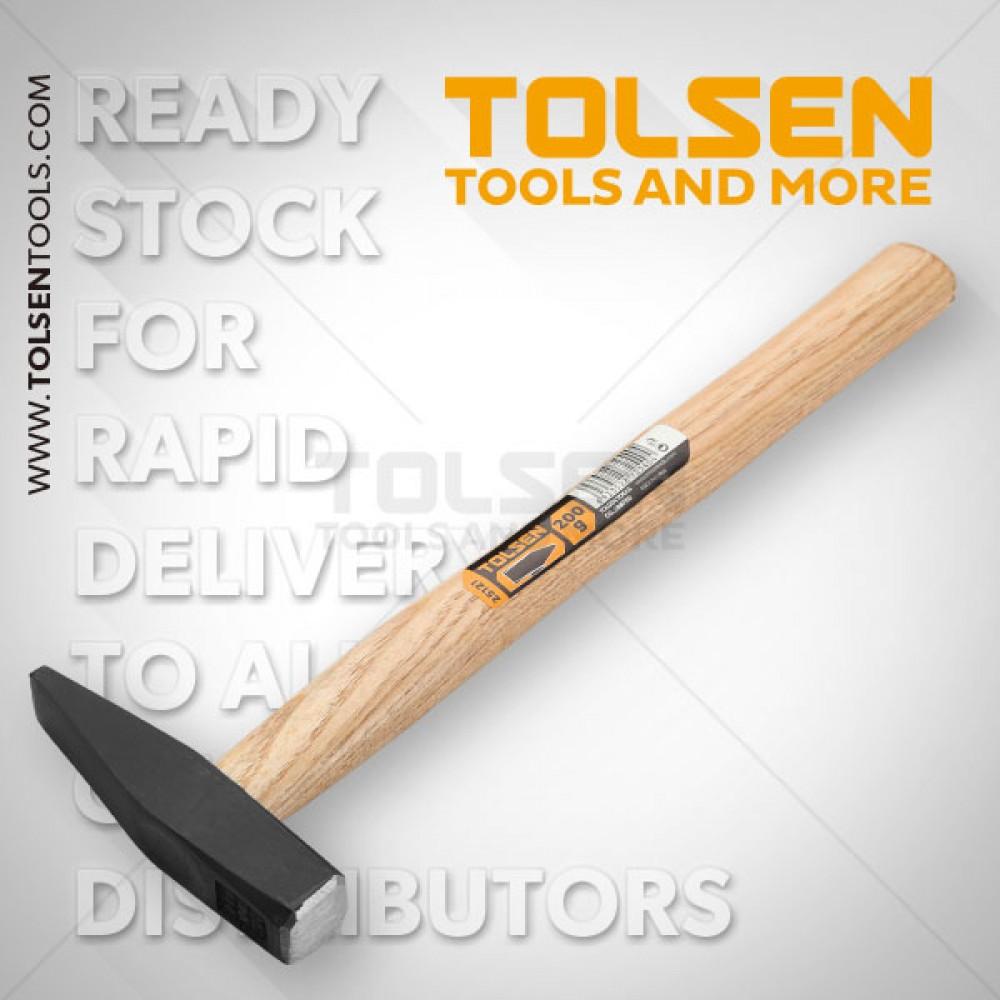 Молоток слесарный с деревянной ручкой 500 г.25123
